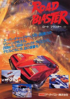 <i>Road Blaster</i> 1985 video game