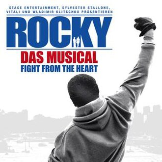 Rocky the Musical - 2012 Hamburg poster