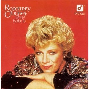 Rosemary Clooney Sings Ballads - Image: Rosemary Clooney Sings Ballads cover