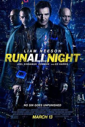 Run All Night (film) - Theatrical release poster