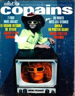 Salut les copains (magazine) - Salut les copains No. 122, October 1972