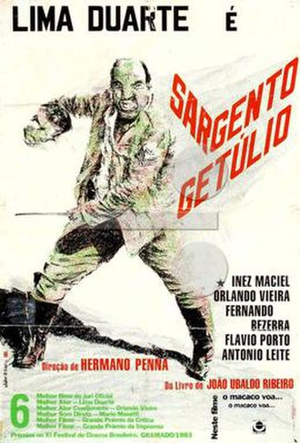 Sergeant Getulio - Theatrical release poster