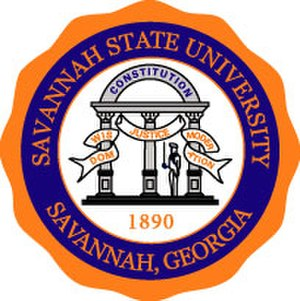 Savannah State University - Image: Savannah State University seal