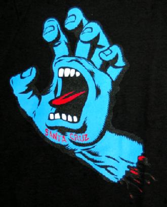 NHS, Inc. - Image: Screaminghand tee