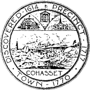Official seal of Cohasset, Massachusetts