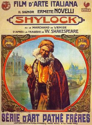 Shylock - 1911 Italian-French film.