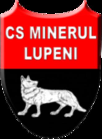 CS Minerul Lupeni - Image: Sigla CS Minerul Lupeni