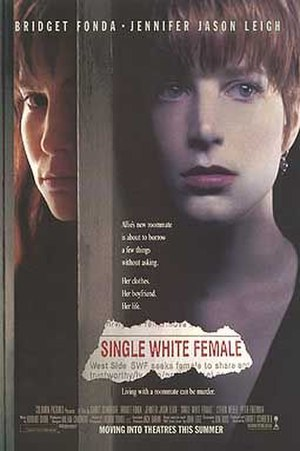 Single White Female - Theatrical release poster
