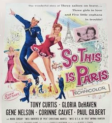 So This Is Paris - 1955 - Poster.png