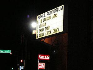 Culture of Omaha, Nebraska - Outside of Sokol Auditorium
