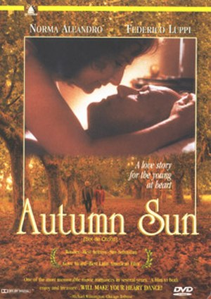 Autumn Sun - English DVD Cover