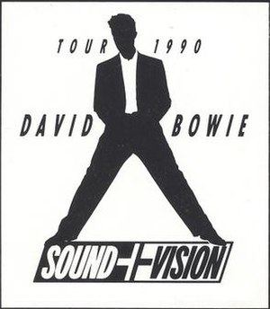 Sound+Vision Tour - Image: Sound+Vision Tour 1990