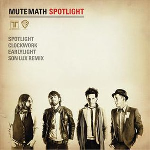 Spotlight (Mutemath song) - Image: Spotlight Cover