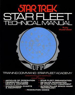 Star Trek Star Fleet Technical Manual - Image: Star Trek Star Fleet Technical Manual cover
