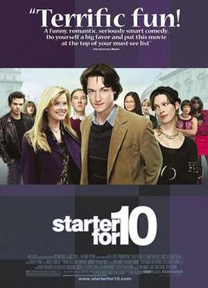 Starter for 10 (film) - US release poster