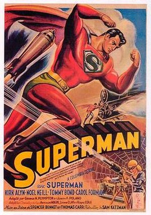 Superman (serial) - Promotional poster