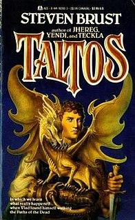 <i>Taltos</i> (Brust novel) 1988 novel in the Vlad Taltos series by Steven Brust