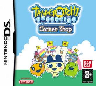 Tamagotchi Connection: Corner Shop - Cover art of Tamagotchi Connection: Corner Shop