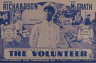 The Volunteer (film) - trade ad