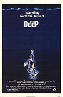 <i>The Deep</i> (1977 film) 1977 adventure film by Peter Yates