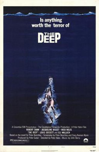 The Deep (1977 film) - Theatrical release poster