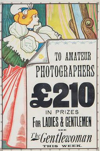 The Gentlewoman - The Gentlewoman photography competition poster, 1898