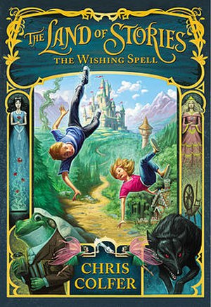 The Land of Stories - Cover of the first book in the series