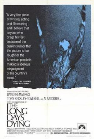 The Long Day's Dying - Film poster