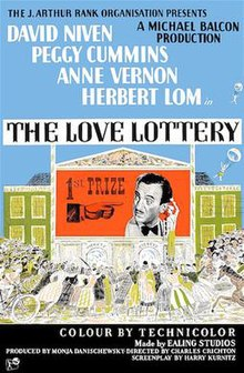 The Love Lottery UK 1954 poster.jpg