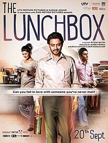 The Lunchbox (2013 - movie_langauge) - Irrfan Khan, Nimrat Kaur, Nawazuddin Siddiqui