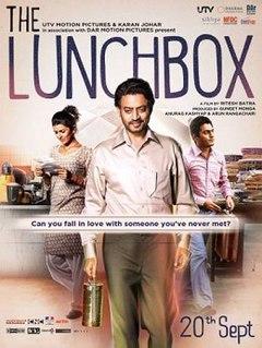 <i>The Lunchbox</i> 2013 Indian film by Ritesh Batra