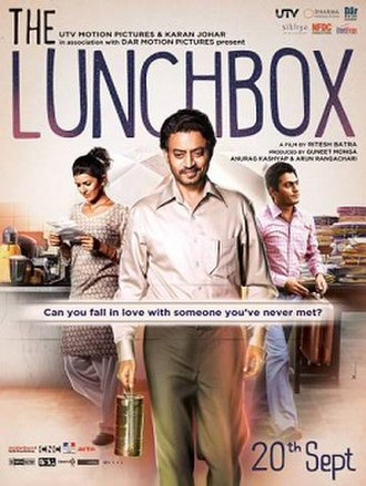 The Lunchbox - Theatrical release poster