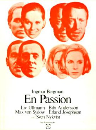 The Passion of Anna - Theatrical film poster