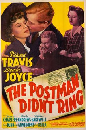 The Postman Didn't Ring - Theatrical release poster