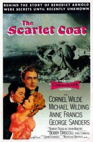 The Scarlet Coat - Image: The Scarlet Coat Film Poster