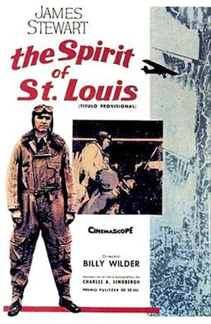 The Spirit of St. Louis (film) - Theatrical release poster