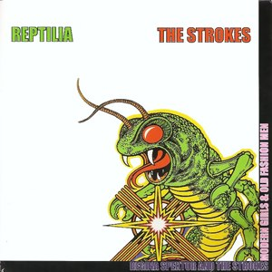 Reptilia (song) - Image: The Strokes Reptilia CD single cover