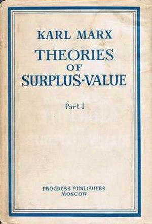 Theories of Surplus Value