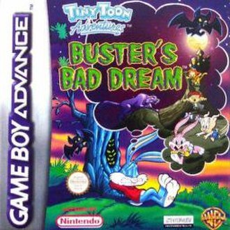 Tiny Toon Adventures: Buster's Bad Dream - Cover art