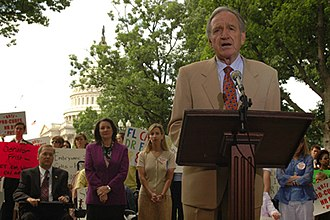Tom Harkin - Sen. Tom Harkin speaks at a rally held by the Coalition for the Advancement of Stem Cell Research.