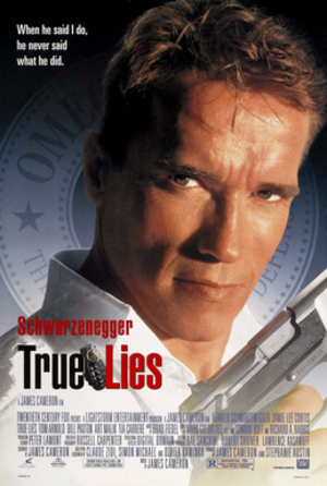True Lies - Theatrical release poster
