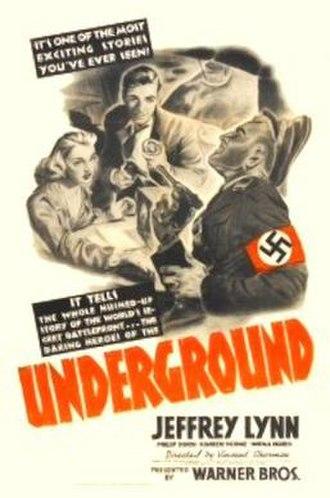 Underground (1941 film) - Image: Underground (1941 film)