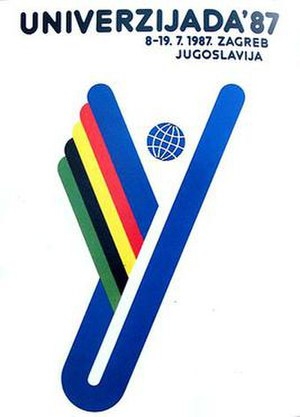 1987 Summer Universiade - Image: Universiade 1987 logo