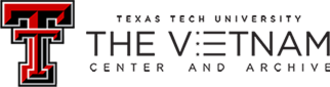 Vietnam Center and Archive - Image: Vietnam Center and Archive Logo