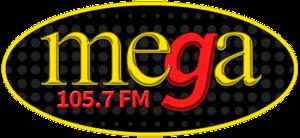 WEMG - Image: WEMG mega 105.7 1310 logo