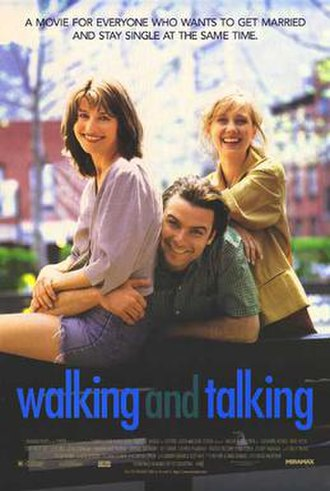 Walking and Talking - Theatrical release poster