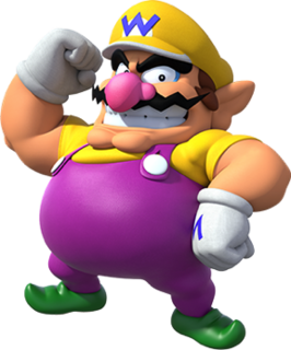 Wario fictional video game character
