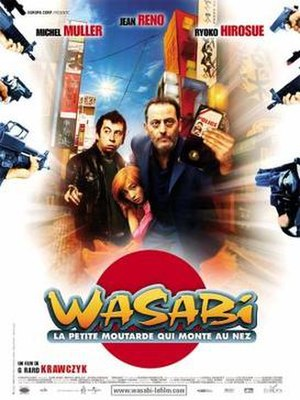 Wasabi (film) - French film poster