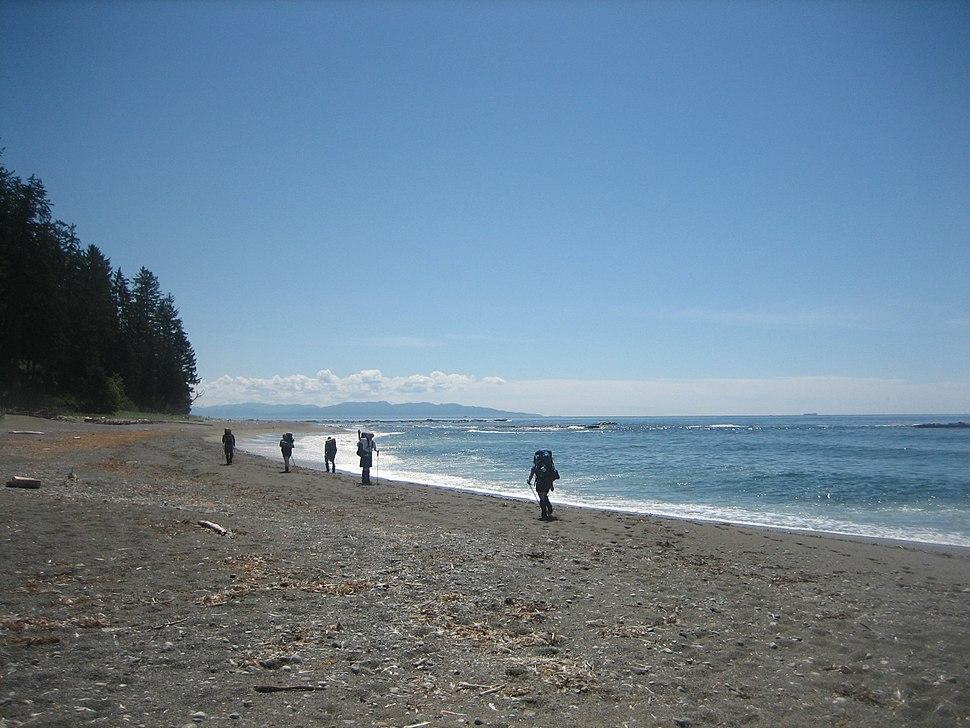 West Coast Trail Beach Hiking 2007