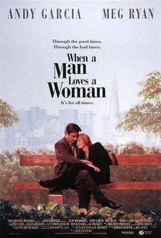When a Man Loves a Woman (film) - Theatrical release poster